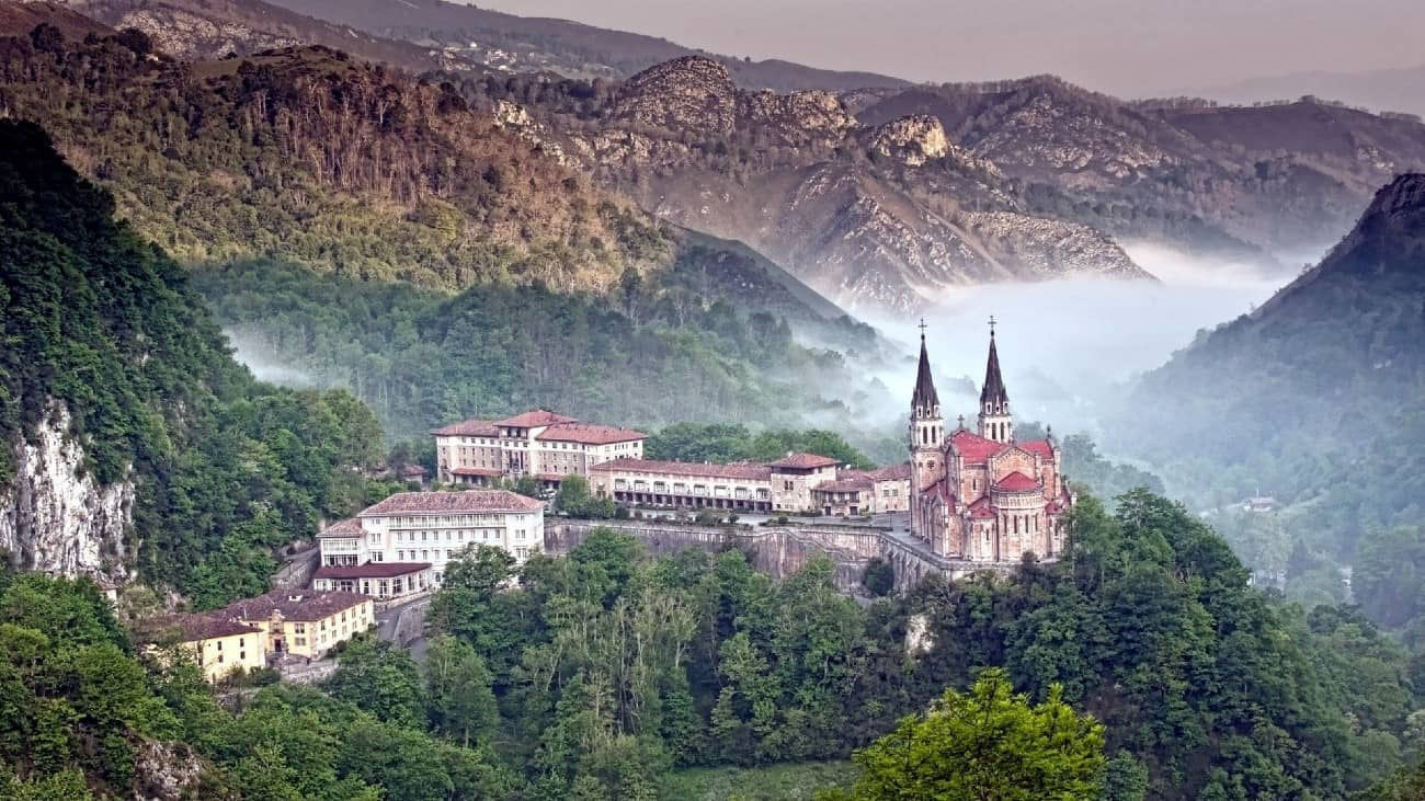 asturias covadonga mountain wedding