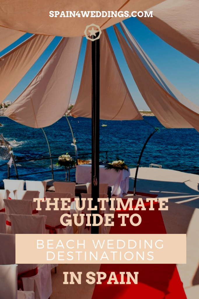 The ultimate guide to beach wedding destinations in Spain