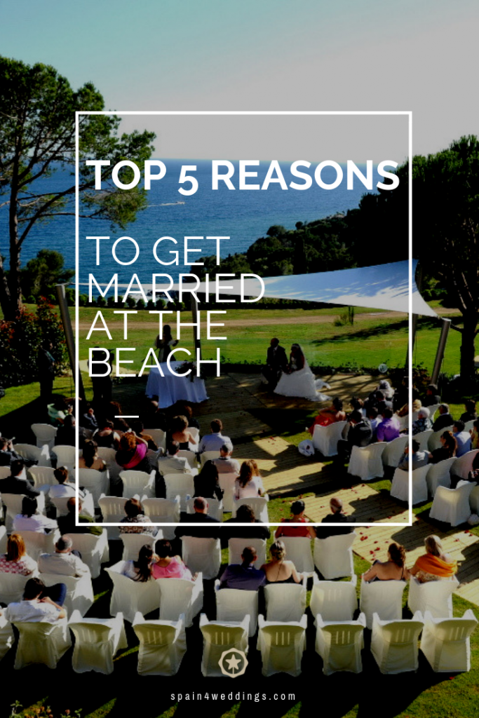 Top 5 reasons to get married at the beach