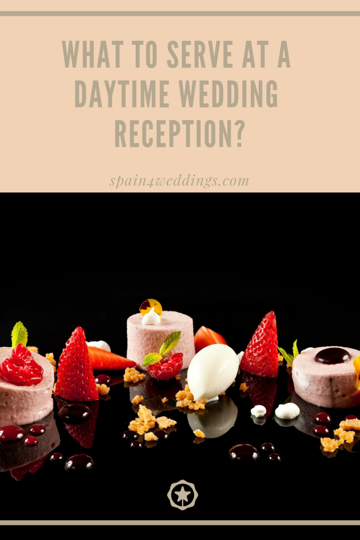 What to serve at a daytime reception