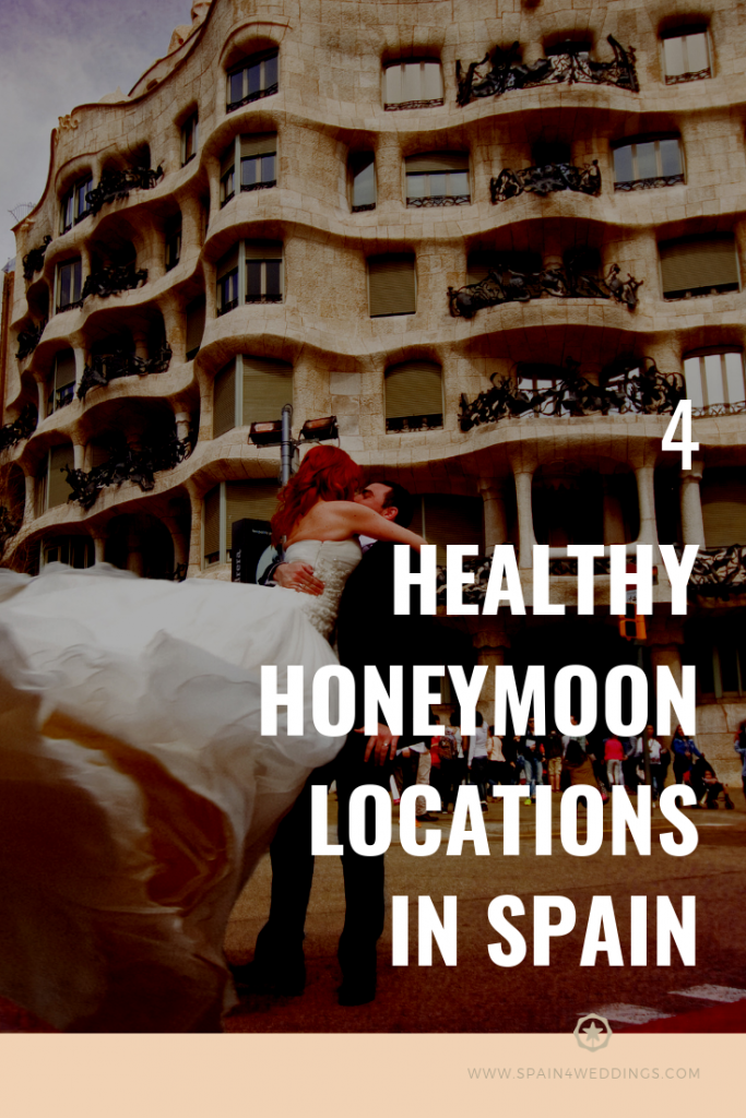 4 Healthy honeymoon locations in Spain