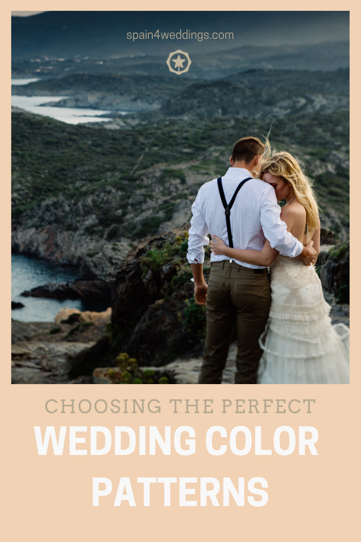 Choosing the perfect wedding color patterns