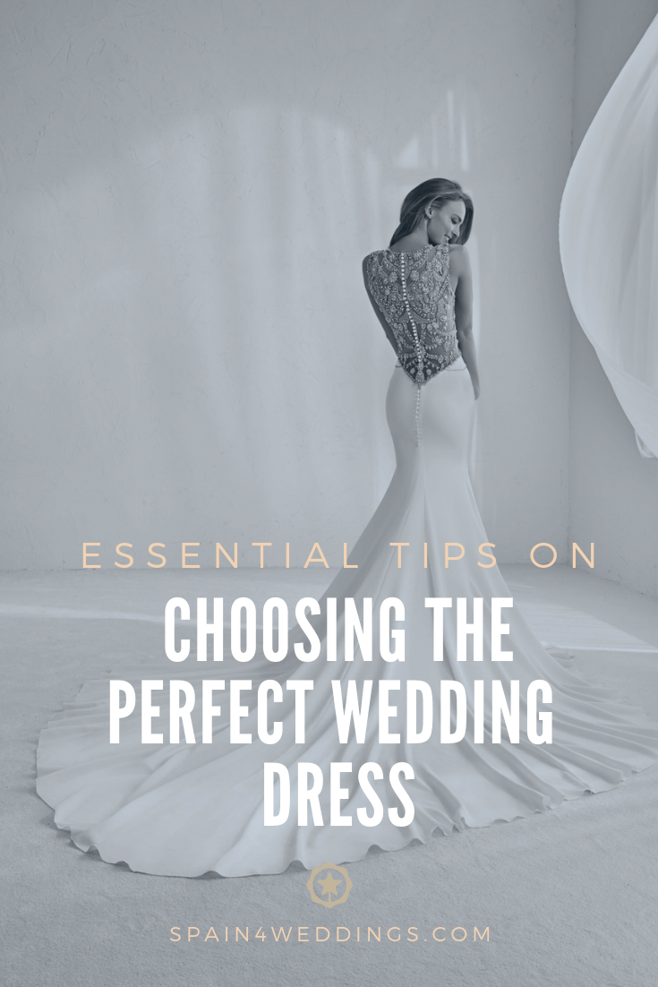 Essential tips on choosing the perfect wedding dress