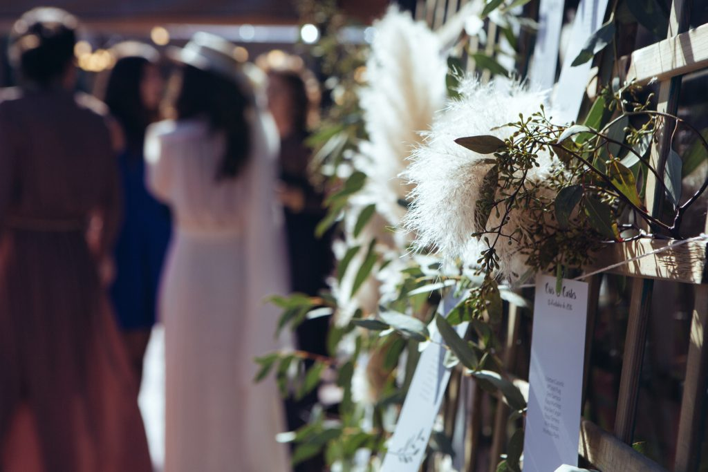 Unique touches you can make to spice up your wedding day in Spain. Photo by Jubany Events