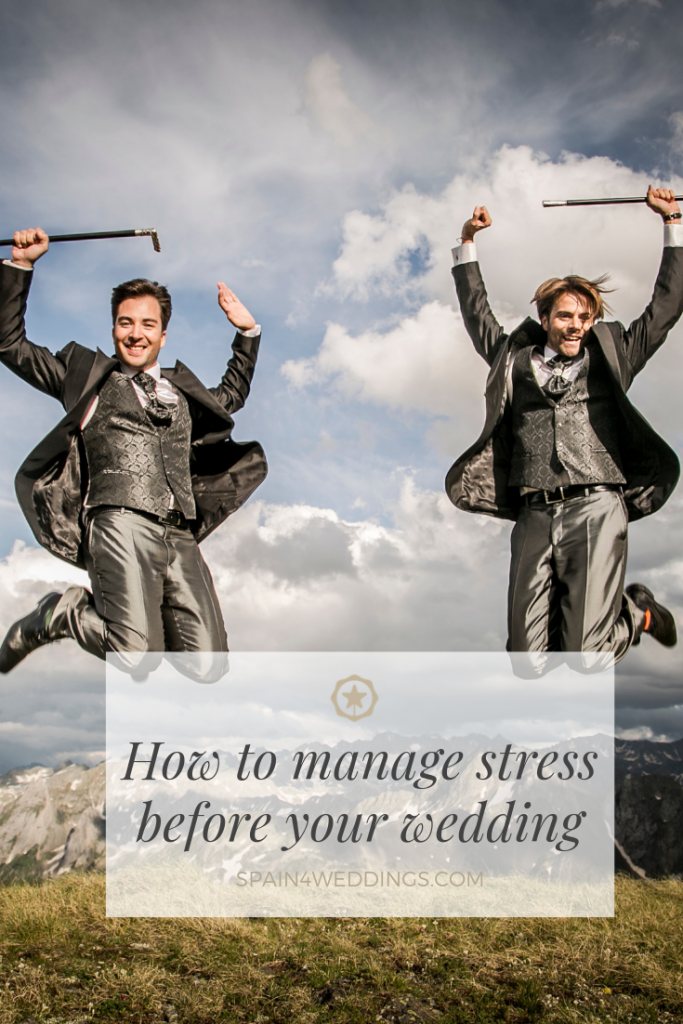 How to manage stress before your wedding