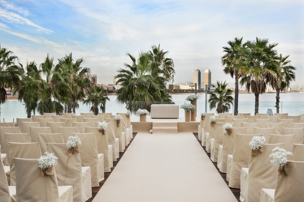 Decoding destination wedding packages. Photo by W Barcelona