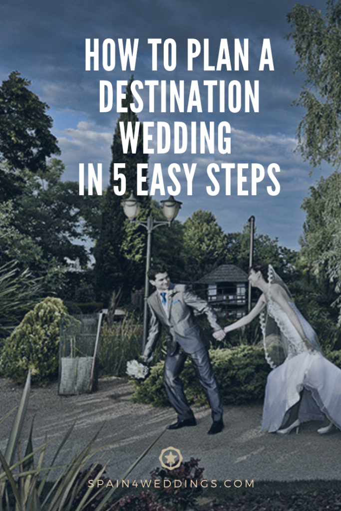 How to plan a destination wedding in 5 easy steps