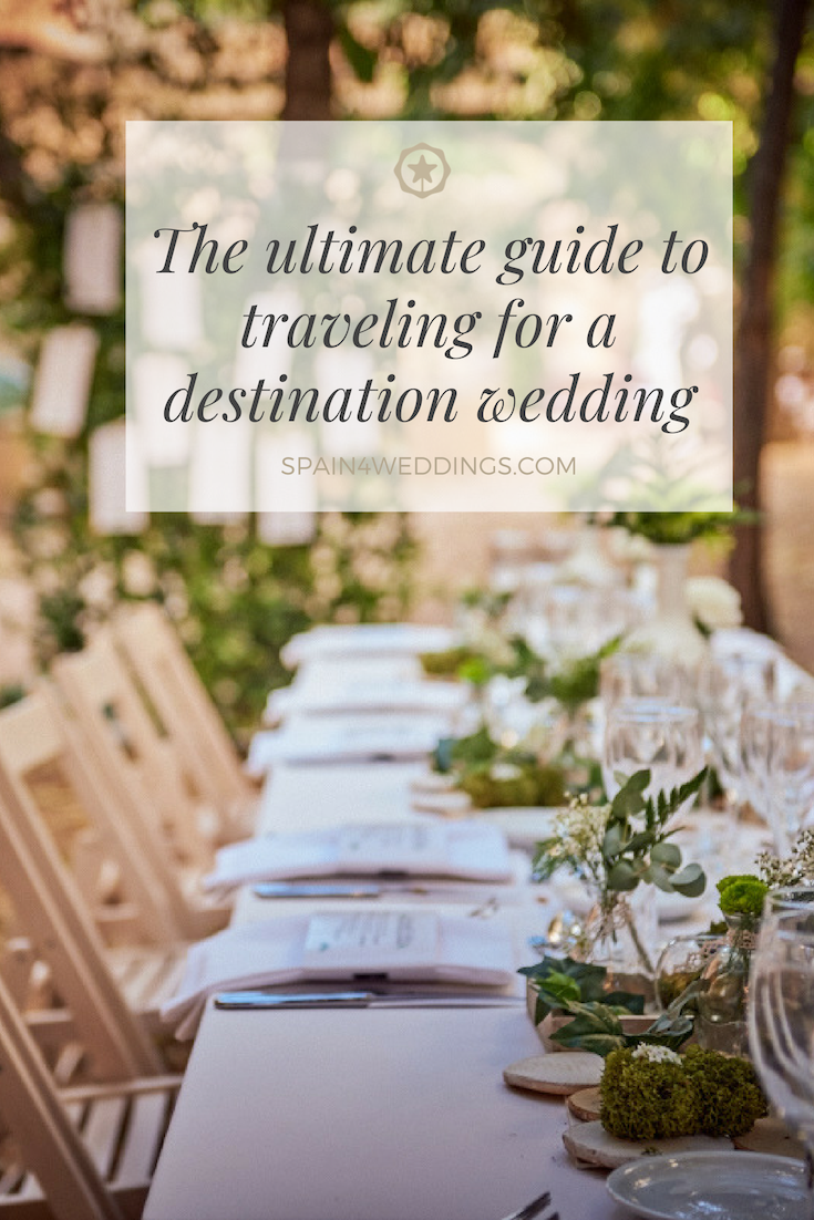 The ultimate guide to traveling for a destination wedding