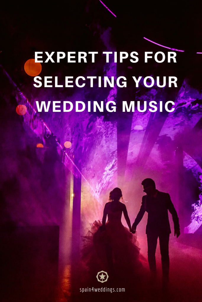 Expert tips for selecting your wedding music