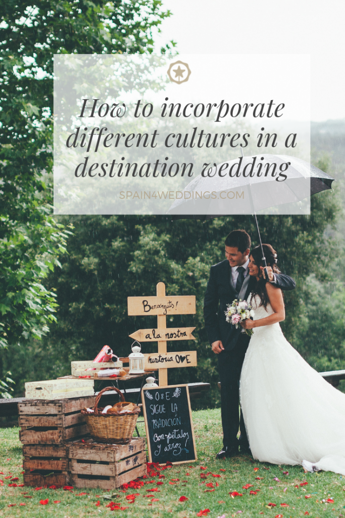 How to incorporate different cultures in a destination wedding