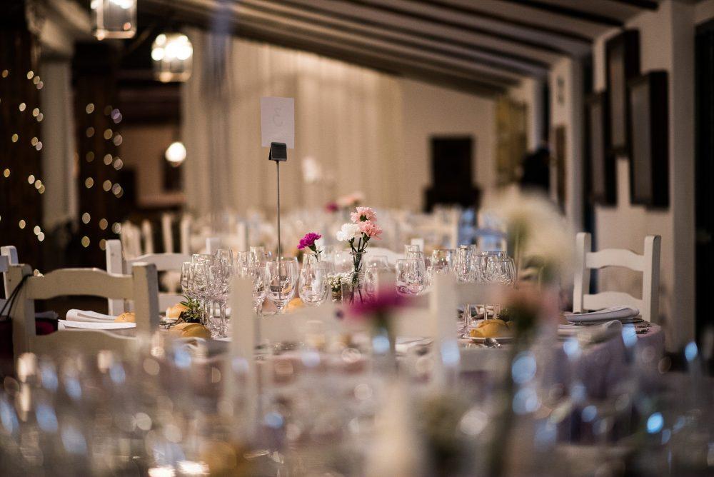 Your wedding registry table-settings checklist. Photo by Palacio del Negralejo