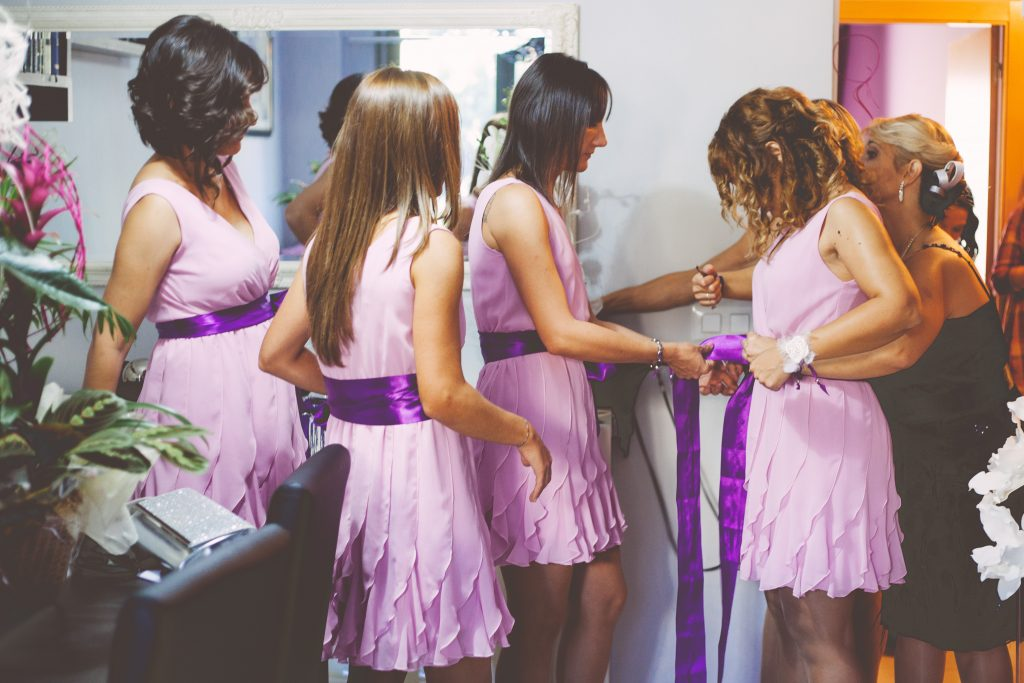 6 Special Ways to Help your Maid of Honor Stand Out. Photo by Marc Prades