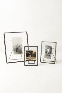 Iron and Glass Photo Frame